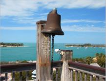 auf dem Bell Tower des Shipwreckmuseums in Key West